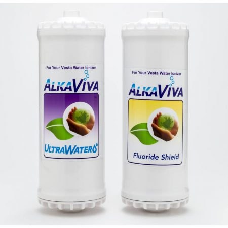 Ultrawater Fluoride Arsenic-shield filter replacement filter package for Vesta