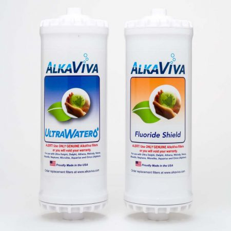 Ultrawater Fluoride Arsenic shield replacement filter package for Athena by AlkaViva