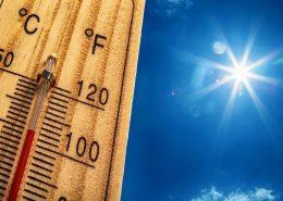 hausse thermomètre